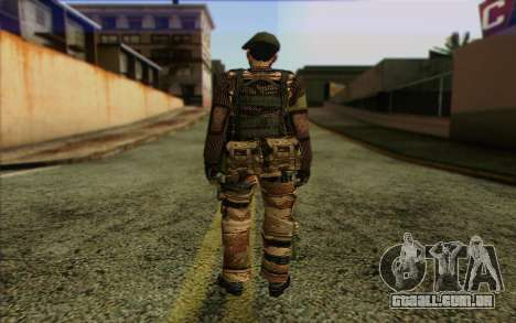 Soldados MEK (Battlefield 2) Pele 5 para GTA San Andreas segunda tela