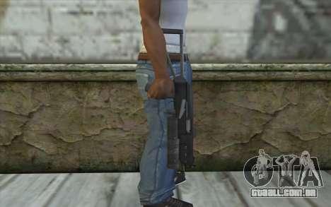PP-19 Bizon (Battlefield 2) para GTA San Andreas terceira tela