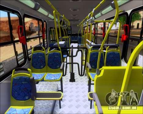 Marcopolo Torino 2007 - Volksbus 17-230 EOD para GTA San Andreas vista traseira