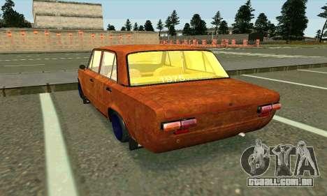VAZ 2101-Rato olhar para GTA San Andreas traseira esquerda vista