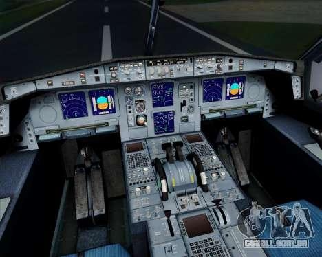 Airbus A340-313 Air France (Old Livery) para GTA San Andreas vista superior