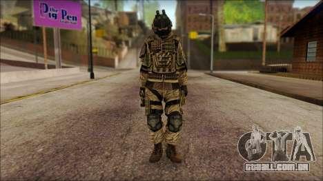 Soldados da UE (AVA) v2 para GTA San Andreas