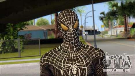 Standart Black Spider Man para GTA San Andreas terceira tela