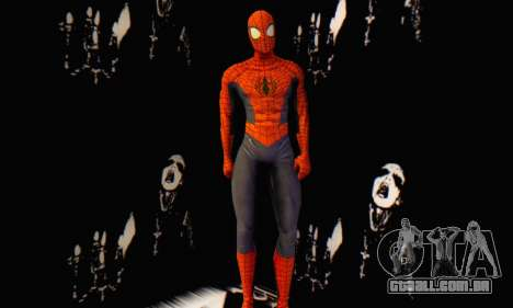 Skin The Amazing Spider Man 2 - Suit Edge Of Tim para GTA San Andreas terceira tela