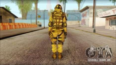 Soldados da UE (AVA) v2 para GTA San Andreas segunda tela