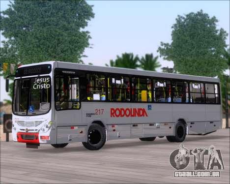 Marcopolo Torino G7 2007 - Volksbus 17-230 EOD para GTA San Andreas esquerda vista