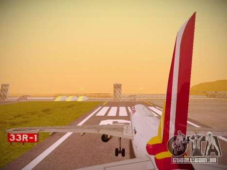 Airbus A319-132 Germanwings para o motor de GTA San Andreas