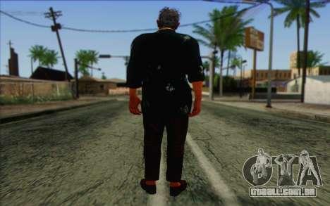 Dr. Alec Earnhardt para GTA San Andreas segunda tela