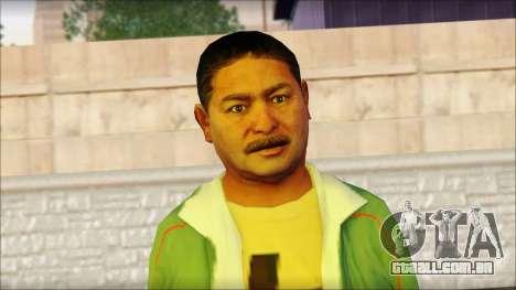 GTA 5 Ped 11 para GTA San Andreas terceira tela