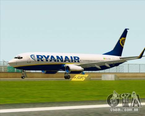 Boeing 737-8AS Ryanair para GTA San Andreas