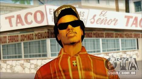 Eazy-E Red Skin v1 para GTA San Andreas terceira tela