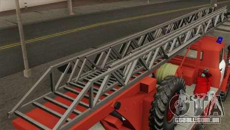 ZIL 131 - AL para GTA San Andreas traseira esquerda vista
