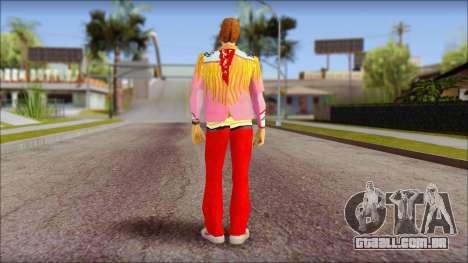Marty from Back to the Future 1885 para GTA San Andreas segunda tela