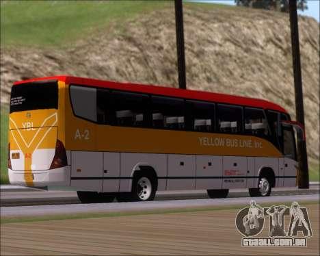 Marcopolo Paradiso G7 1050 Yellow Bus Line A-2 para GTA San Andreas vista direita