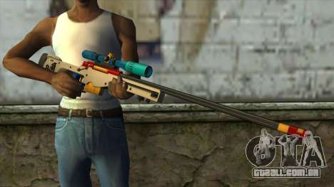 Sniper Rifle from PointBlank v4 para GTA San Andreas terceira tela