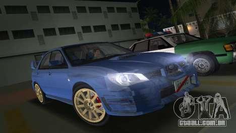 Subaru Impreza WRX STI 2006 Type 1 para GTA Vice City