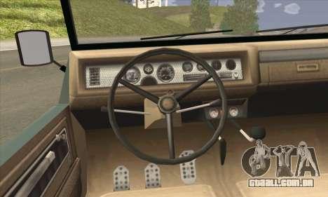 GTA V Canis Kalahari (IVF) para GTA San Andreas traseira esquerda vista