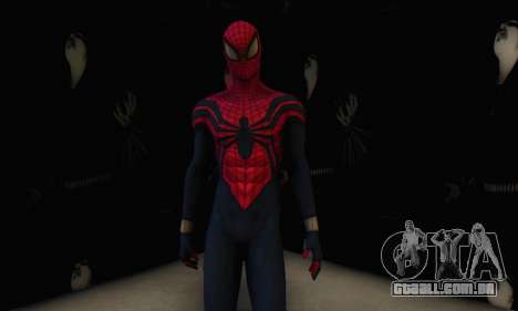 Skin The Amazing Spider Man 2 - Suit Ben Reily para GTA San Andreas quinto tela