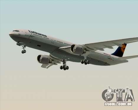 Airbus A330-300 Lufthansa para o motor de GTA San Andreas