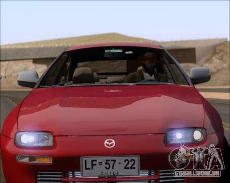 Mazda 323F 1995 para GTA San Andreas vista superior