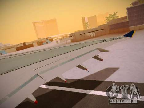 Airbus A340-600 Singapore Airlines para as rodas de GTA San Andreas