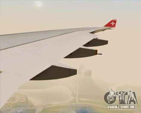 Airbus A330-300 Swiss International Air Lines para as rodas de GTA San Andreas