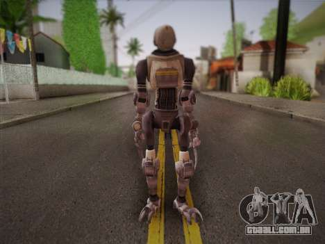 Mouser Human para GTA San Andreas