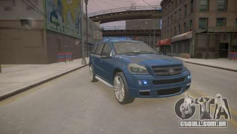Mercedes-Benz GL450 AMG Police Interceptor 2013 para GTA 4