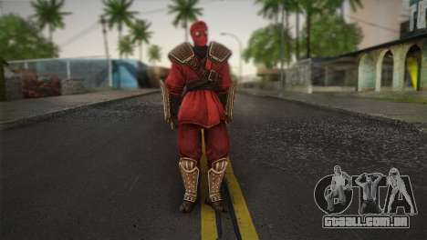 Foot Soldier Elite v1 para GTA San Andreas