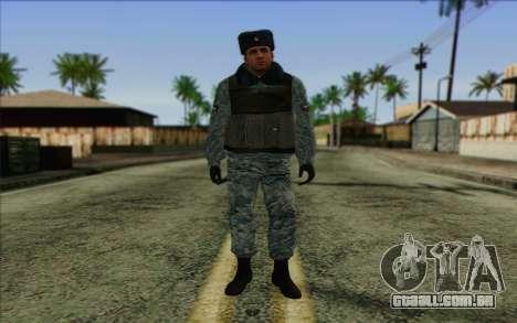 A polícia da Rússia Pele 5 para GTA San Andreas