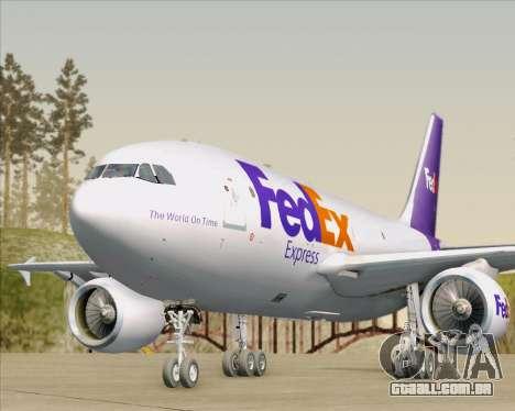 Airbus A310-300 Federal Express para o motor de GTA San Andreas