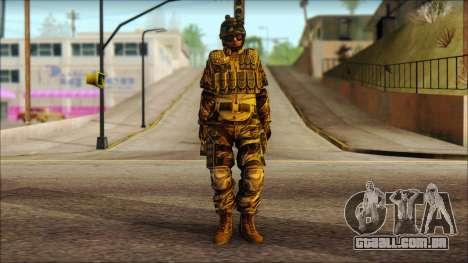 Soldados da UE (AVA) v3 para GTA San Andreas
