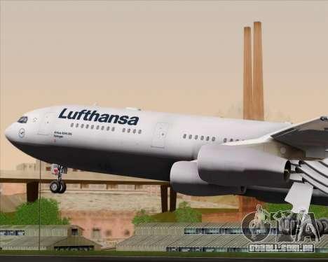 Airbus A340-313 Lufthansa para o motor de GTA San Andreas