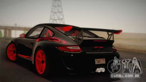 Porsche 911 GT3RSR para GTA San Andreas esquerda vista