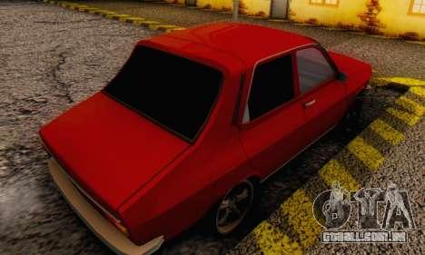 Dacia 1300 Stock 1979 para GTA San Andreas esquerda vista