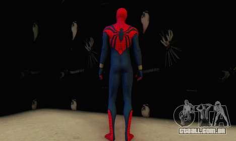 Skin The Amazing Spider Man 2 - Suit Ben Reily para GTA San Andreas por diante tela