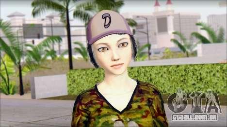 Adultos Clementine para GTA San Andreas terceira tela