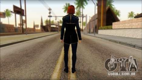 Mass Effect Anna Skin v1 para GTA San Andreas segunda tela