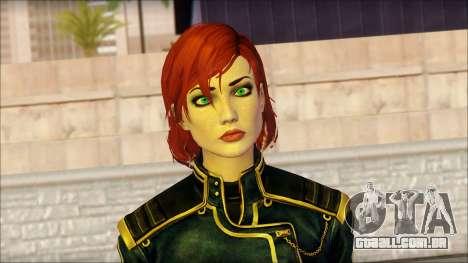 Mass Effect Anna Skin v1 para GTA San Andreas terceira tela