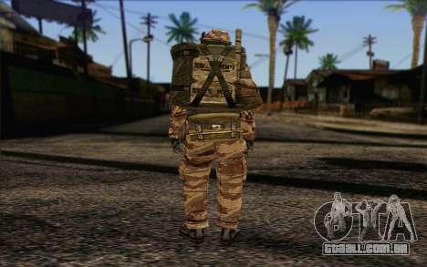 Soldados MEK (Battlefield 2) Pele 3 para GTA San Andreas segunda tela
