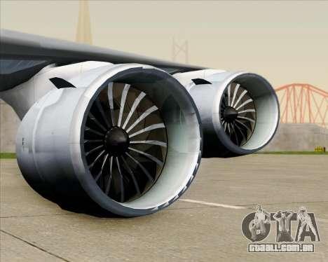 Boeing 747-8 Cargo Nippon Cargo Airlines para as rodas de GTA San Andreas