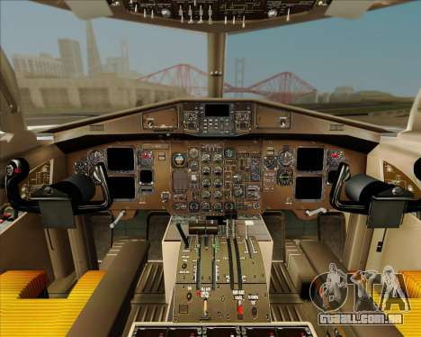 ATR 72-500 Garuda Indonesia Explore para GTA San Andreas vista superior