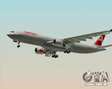 Airbus A330-300 Swiss International Air Lines para GTA San Andreas
