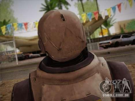 Mouser Human para GTA San Andreas terceira tela