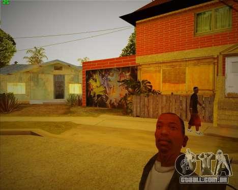 Atualizado casa do CJ para GTA San Andreas segunda tela