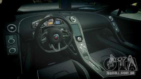 McLaren 650S Spider 2014 [EPM] Michelin v3 para GTA 4 vista interior