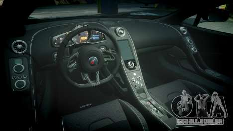 McLaren 650S Spider 2014 [EPM] Pirelli v1 para GTA 4 vista interior