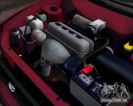 Toyota Corolla 1.6 para GTA San Andreas vista traseira