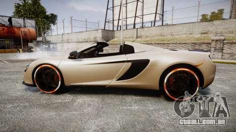 McLaren 650S Spider 2014 [EPM] Bridgestone v1 para GTA 4 esquerda vista