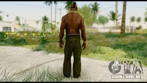 MR T Skin v1 para GTA San Andreas segunda tela